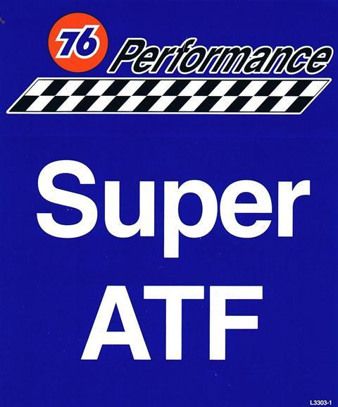 Aufkleber 76 Performance Super ATF