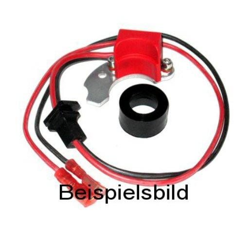 Elektronische Zündung für Bosch 4 Zylinder Verteiler mit 2-teiligem links angeschlagenem Kontakt U-D