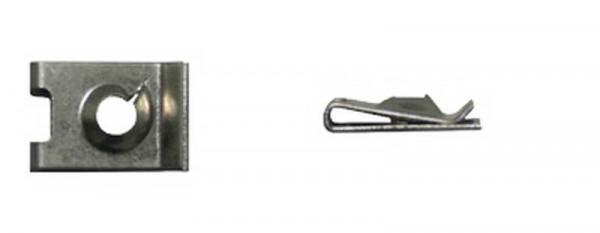 Blechmutter, galv. verzinkt, 4,8 mm (10 Stk.)