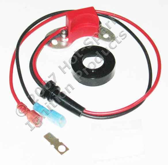 Elektronische Zündung für Ford 8 Zylinder Verteiler m. Unterduck-Verstellung