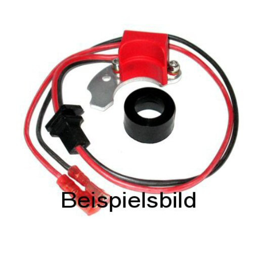 Elektronische Zündung für Bosch 6 Zylinder Verteiler mit 2-teiligem rechts angesch. Kontakt (Fliehkr
