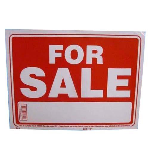 """""""For Sale"""" Universal Verkaufs-Schild, groß"""