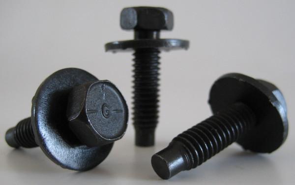 """Karosserieschraube 5/16-18 Zoll UNC 31,75 mm lang, 7/8"""" Scheibe (5 Stk.)"""