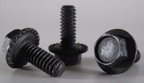 """Karosserieschraube 1/4""""-20 UNC, 16 mm lang, 16 mm Flansch (10 Stk.)"""