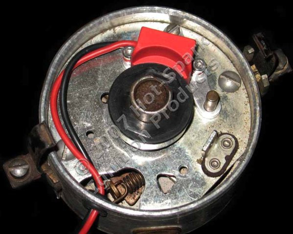 Elektronische Zündung für Prestolite 8-Zylinder Verteiler (geschraubt/geklipst)