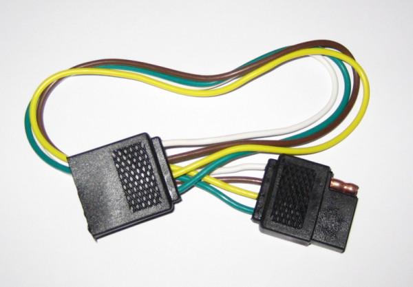 KFZ Kabelstecker mit Kabel, 4 polig