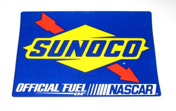 Aufkleber Sunoco Official Nascar Fuel
