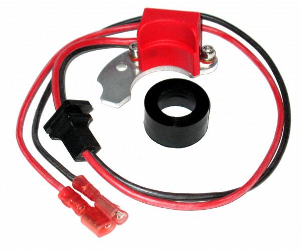 Elektronische Zündung für Bosch 4 Zylinder Verteiler mit rechts angesch. Kontakt