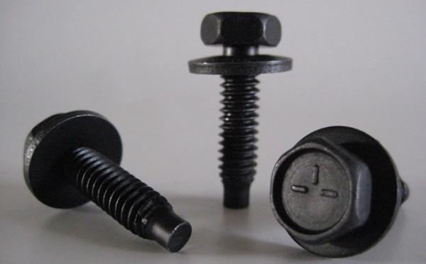 """Karosserieschraube 1/4""""-20 UNC 25,4 mm lang, m. 16 mm Scheibe (10 Stk.)"""