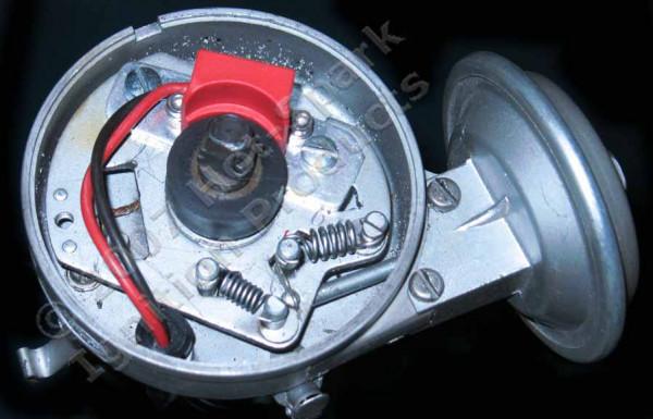 Elektronische Zündung für Ford 6 Zylinder Verteiler m. Unterduck-Verstellung